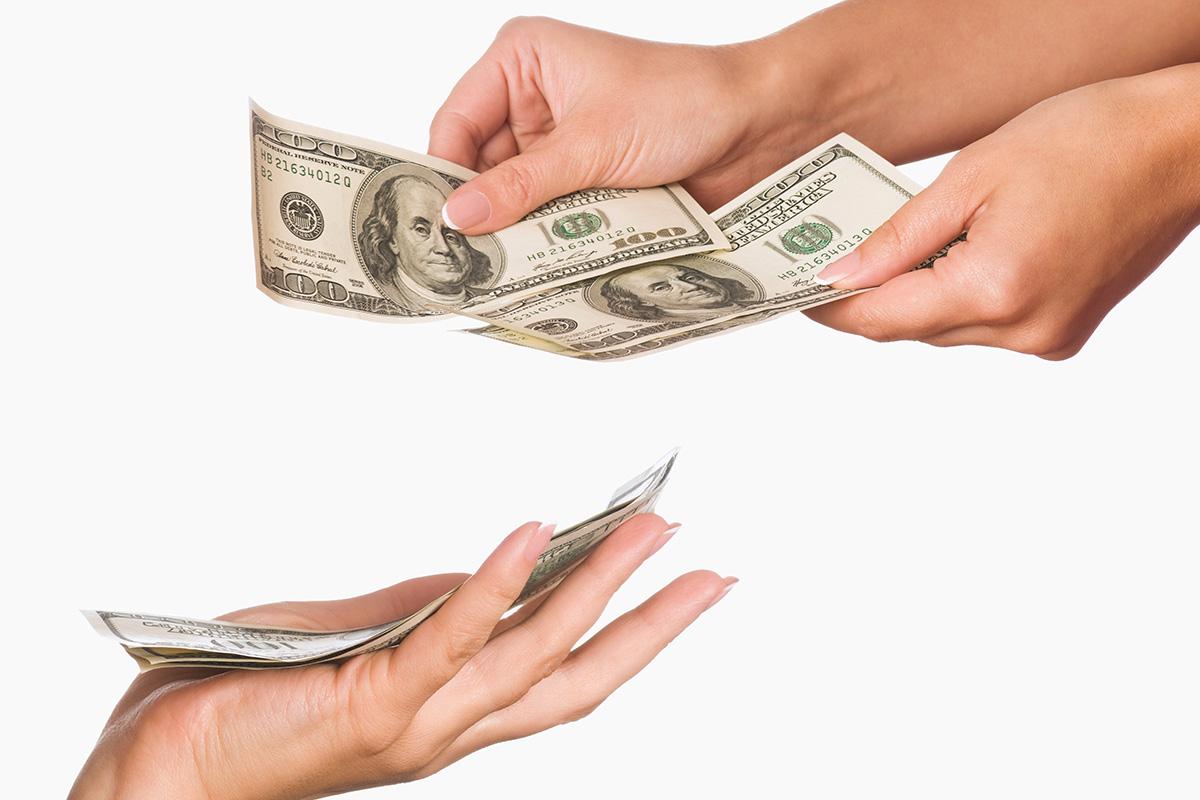 landlord receiving cash reimbursement for tenant chargeback