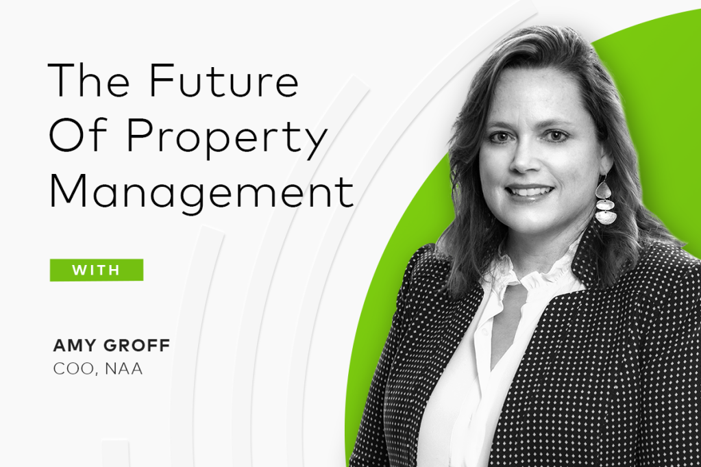 The future of property management with Amy Groff, COO at NAA